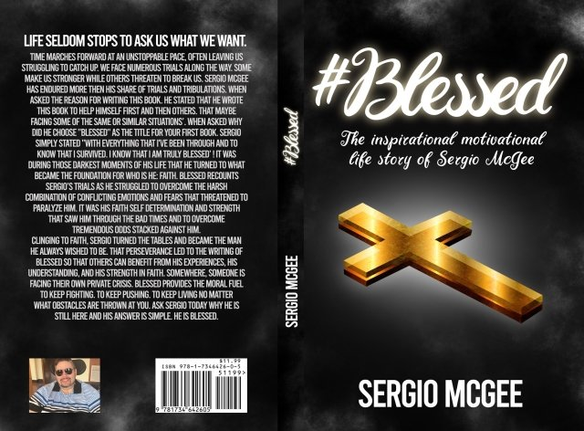 Blessed Book by Sergio Mcgee